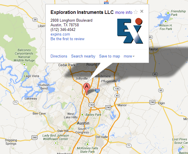 Google map to EXIb